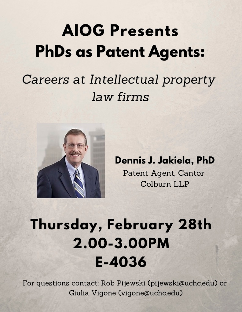 PhD as patent agent